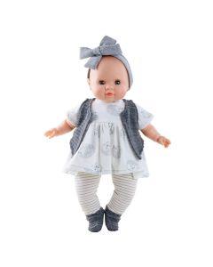 Agatha Soft Body Doll with Hedgehog Print - Paola Reina
