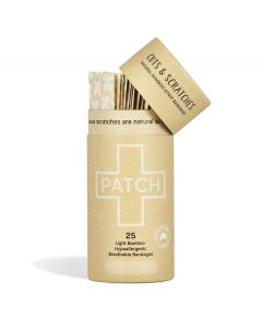 Patch Bamboo Adhesive Bandages - Natural - 25 pack