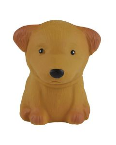 Puppy Parade - Natural Rubber Puppy Toy - Poodle - Hevea