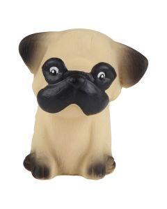 Puppy Parade - Natural Rubber Puppy Toy - Pug - Hevea