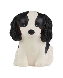 Puppy Parade - Natural Rubber Puppy Toy - King Charles Cavalier - Hevea