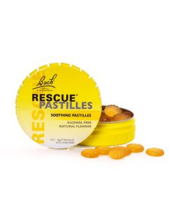 Rescue Remedy® Pastilles - 50g tin - Bach Flower Remedies