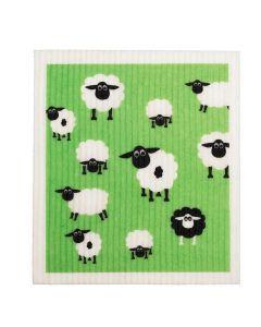 Biodegradable Swedish Dish Cloth - Sheep - Retro Kitchen