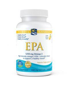 EPA - 60 Capsules - Lemon Flavour - Omega-3 - Nordic Naturals