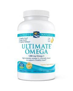 Ultimate Omega - 180 Capsules - Lemon Flavour - High Intensity Omega-3 - Nordic Naturals
