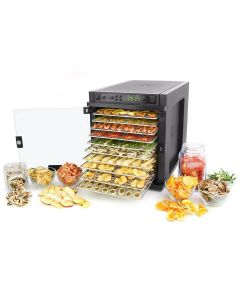 11 Tray Sedona Express Stainless Steel Digitally Controlled Food Dehydrator - Tribest