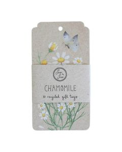 Chamomile Gift Tag - 10 pack - Sow 'n Sow