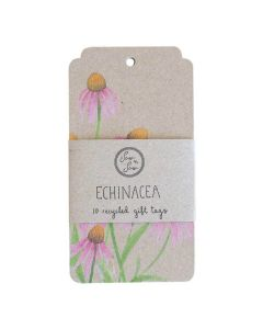 Echinacea Gift Tag - 10 pack - Sow 'n Sow