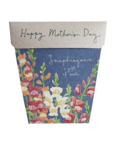Mother's Day Snapdragons Gift of Seeds - Sow 'n Sow