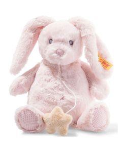 Belly Rabbit Music Box - Steiff Soft Cuddly Friends - Rose, 26cm