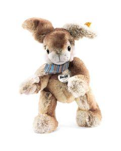 Hoppi Dangling Rabbit - Steiff Stuffed Animal - Beige, 26cm