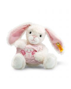 Lea Tooth Fairy Rabbit - Steiff Babyworld - White / Pink, 22cm
