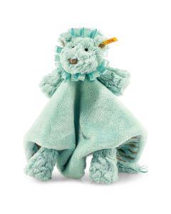 Pawley Lion Comforter - Steiff Soft Cuddly Friends - Green, 26cm