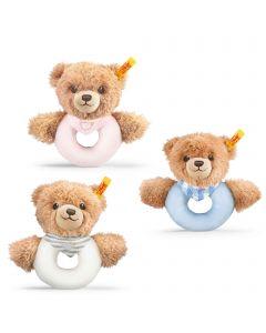 Sleep Well Bear Grip Toy with Rattle - Steiff Babyworld - 12cm