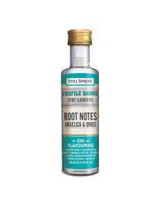 Top Shelf Gin Profile Root Notes - Angelica & Orris - Still Spirits