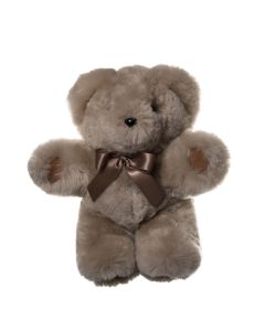 Basil Teddy Bear with Suede Paws - Camel - Small - Tambo Teddies