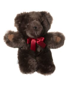 Basil Teddy Bear with Suede Paws - Latte - Large - Tambo Teddies