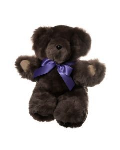 Basil Teddy Bear with Suede Paws - Latte - Small - Tambo Teddies