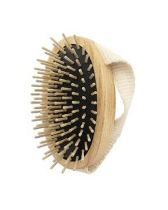 Large Oval Military Style Brush (with Cotton Strap) - Tek