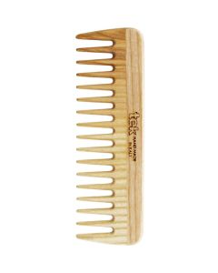 Small Comb with Wide Teeth - Natural - Tek