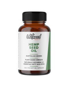 Hemp Seed Oil Capsules - 120 capsules - Untamed Health