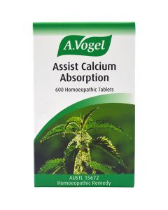 Assist Calcium Absorption (Urticalcin) - 600 Homeopathic tablets - A. Vogel (Clearance)