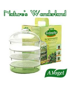 bioSnacky Sprossengarten Mini Greenhouse Dome Sprouter - A. Vogel