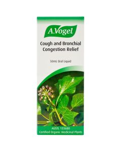 Cough and Bronchial Congestion Relief (Bronchosan) - 50ml Oral Liquid - A. Vogel (Clearance)