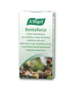 Dentaforce Concentrated Herbal Mouthwash - 100ml - A. Vogel