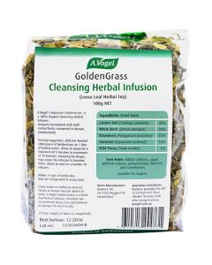 GoldenGrass Tea Cleansing Herbal Infusion - 100g - A. Vogel