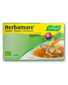 Herbamare Plantaforce Vegetable Stock Concentrate Cubes - A. Vogel