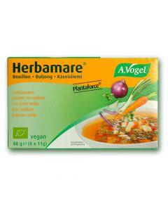 Herbamare Plantaforce Low Sodium Vegetable Stock Concentrate Cubes - A. Vogel