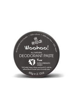 Tux Deodorant Paste Tin - Extra Strength - 60g - Woohoo Body