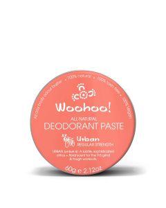 Urban Deodorant Paste Tin - Regular Strength - 60g - Woohoo Body
