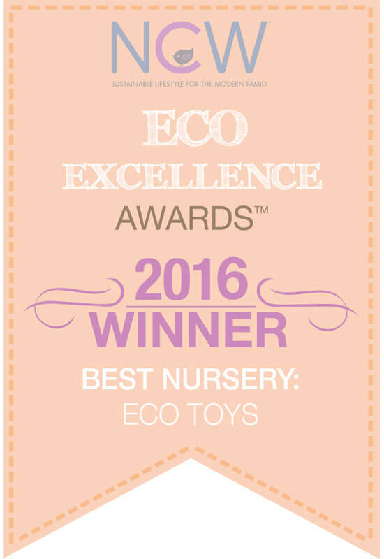 2016 Winner of Eco Excellence Awards - Best Nursery: Eco Toys